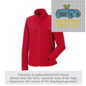 8700F Ladies Full Zip Outdoor Fleece