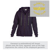 GD081 Ladies Heavy Blend Vintage Full Zip Hoodie